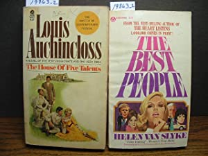 THE HOUSE OF FIVE TALENTS / THE: Auchincloss, Louis /