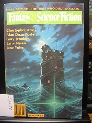 FANTASY AND SCIENCE FICTION - Jul, 1982: Keith Roberts ---