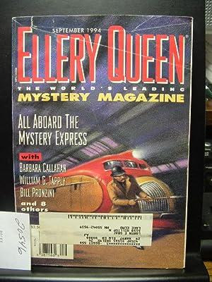 ELLERY QUEEN'S MYSTERY - Sep, 1994: ELLERY QUEEN /