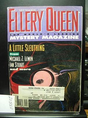 ELLERY QUEEN'S MYSTERY - Sep, 1993: ELLERY QUEEN /
