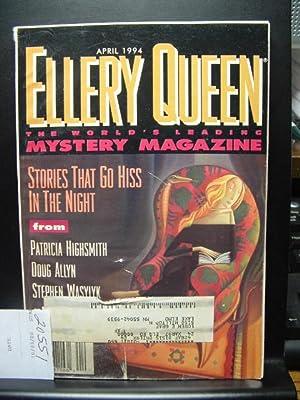 ELLERY QUEEN'S MYSTERY - Apr, 1994: ELLERY QUEEN /
