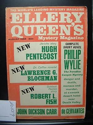 ELLERY QUEEN'S MYSTERY - Aug, 1966: ELLERY QUEEN /