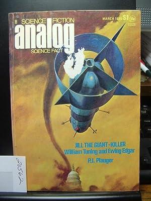 ANALOG - Mar, 1975: William Turning &