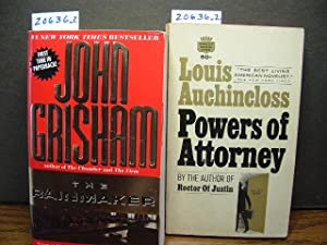 THE RAINMAKER / POWERS OF ATTORNEY: Grisham, John /