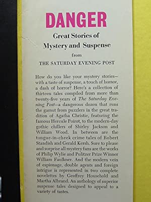 DANGER: Great Stories of Mystery and Suspense: SATURDAY EVENING POST