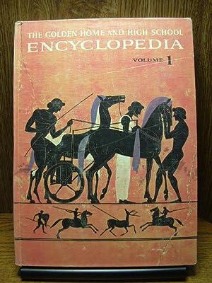 THE GOLDEN HOME AND HIGH SCHOOL ENCYCLOPEDIA: Golden Press