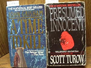 PRESUMED INNOCENT / A TIME TO KILL: Turow, Scott /