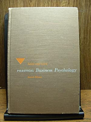 PRACTICAL BUSINESS PSYCHOLOGY: Laird, Donald &