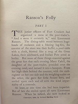 RANSON'S FOLLY: Davis, Richard Harding