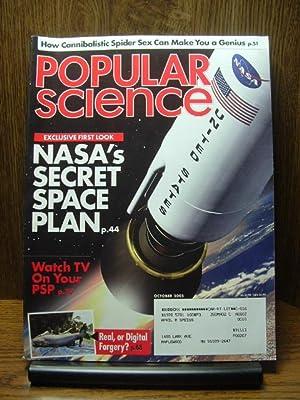 POPULAR SCIENCE MAGAZINE - October 2005: POPULAR SCIENCE
