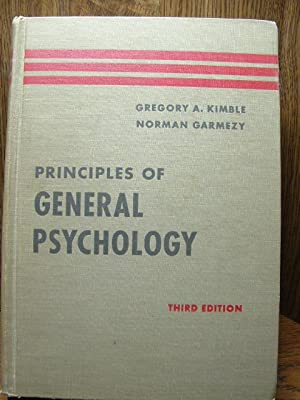 PRINCIPLES OF GENERAL PSYCHOLOGY (3rd Ed.)