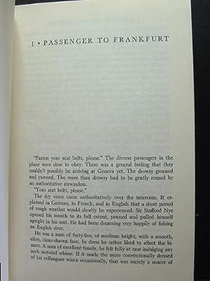PASSENGER TO FRANKFURT: Christie, Agatha