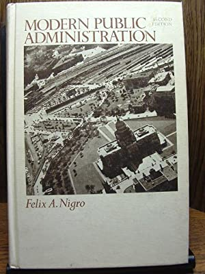 MODERN PUBLIC ADMINISTRATION (2nd Ed.)