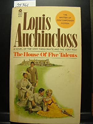 THE HOUSE OF FIVE TALENTS: Auchincloss, Louis