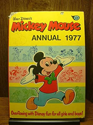 MICKEY MOUSE ANNUAL 1977: Walt Disney Productions