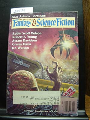 FANTASY AND SCIENCE FICTION - Jan, 1987