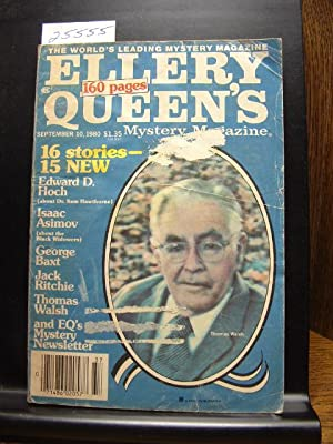 ELLERY QUEEN'S MYSTERY - Sep 10, 1980: Jack Ritchie ---
