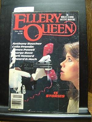 ELLERY QUEEN'S MYSTERY - Nov, 1983: Celia Fremlin ---