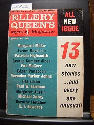 ELLERY QUEEN'S MYSTERY - Oct, 1962: Avram Davidson ---