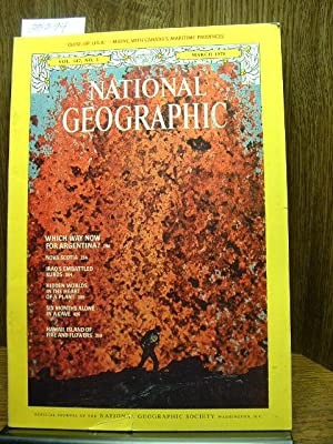 NATIONAL GEOGRAPHIC MAGAZINE, VOLUME 147, NO. 3, MARCH, 1975