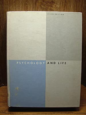 PSYCHOLOGY AND LIFE (5th edition): Ruch, Floyd L.