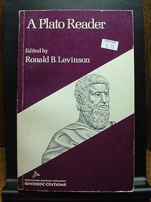A PLATO READER: Levinson, Ronald B.