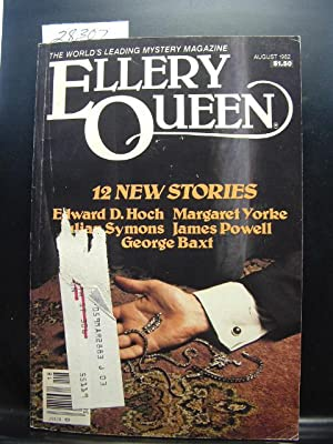 ELLERY QUEEN'S MYSTERY - Aug, 1982: Julian Symons ---