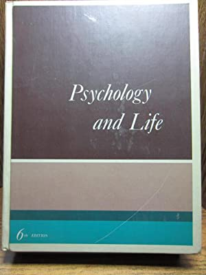 PSYCHOLOGY AND LIFE (6th edition)