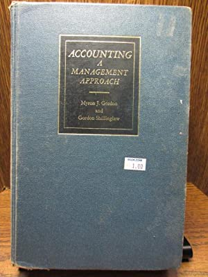 ACCOUNTING: A MANAGEMENT APPROACH
