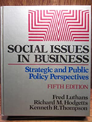SOCIAL ISSUES IN BUSINESS - 5th Edition