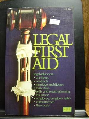 LEGAL FIRST AID: McDonald, M