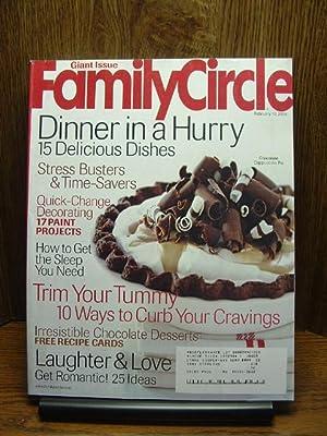 FAMILY CIRCLE MAGAZINE - February 17, 2004: Family Circle