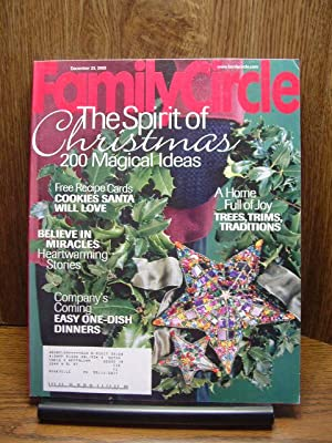 FAMILY CIRCLE MAGAZINE - December 23, 2003: Family Circle