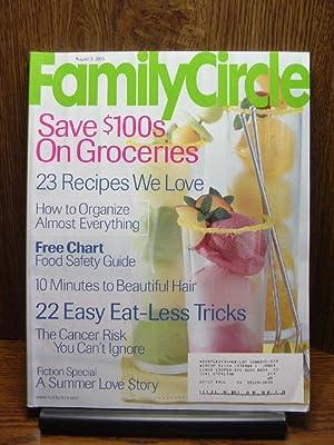 FAMILY CIRCLE MAGAZINE - August 5, 2003: Family Circle
