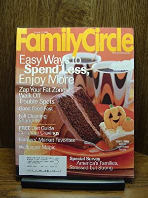 FAMILY CIRCLE MAGAZINE - October 15, 2003: Family Circle