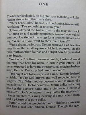 LUKE SUTTON HIRED GUN: Kelley, Leo P.