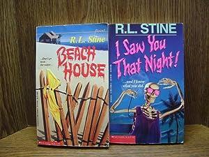 BEACH HOUSE/I SAW YOU THAT NIGHT: Stine, R. L.