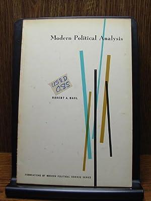 MODERN POLITICAL ANALYSIS: Dahl, Robert A.