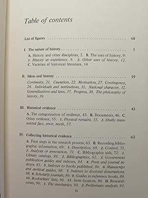 A GUIDE TO HISTORICAL METHOD: Shafer, R. J.