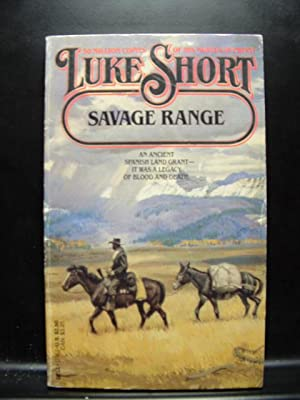 SAVAGE RANGE / BITTER JOURNEY: Short, Luke /