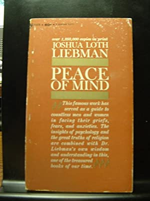 PEACE OF MIND: Liebman, Joshua Loth