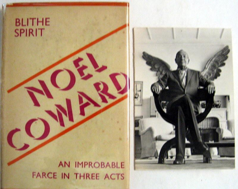 an analysis of blithe spirit by noel coward The poster for david lean's 1945 film adaptation of blithe spirit the film starred constance cummings, rex harrison, kay hammond, and margaret rutherford the film starred constance cummings, rex harrison, kay hammond, and margaret rutherford.