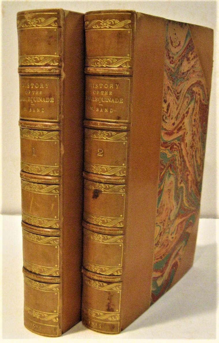 History of the Harlequinade (2 volumes) Sand, Maurice