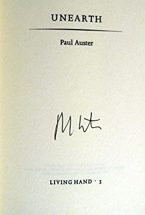 Unearth: Paul Auster