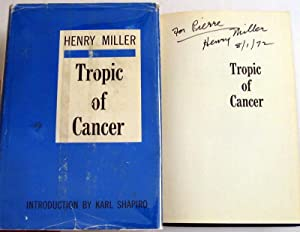 Tropic of Cancer: Miller, Henry