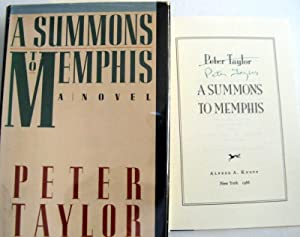 A Summons to Memphis: Taylor, Peter