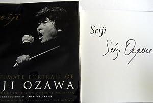 Seiji: An Intimate Portrait of Seiji Ozawa, Music Director of the Boston Symphony Orchestra (SIGNED...