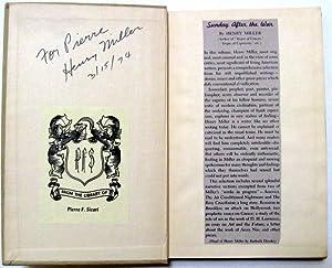Sunday After the War: Henry Miller