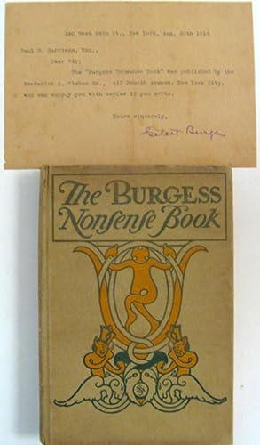 The Burgess Nonsense Book: Gelett Burgess