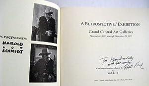 N. Eggenhofer Harold Von Schmidt: A Retrospective / Exhibition: Walt Reed